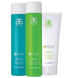 FC5® Shower Set Smarten up your shower with three FC5 products to help keep skin and hair hydrated and radiant. Enjoy Nourishing Daily Shampoo and Conditioner, plus Invigorating Body Cleanser. A $62 value, for $55. No harmful chemicals vegan certified. Enter consultant ID# 13006363 to order.