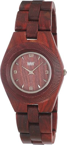 We-Wood Odyssey Brown WW14, We-Wood horloge Voor dames. Houten horloge