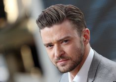 JUSTIN TIMBERLAKE & new hair do is great!