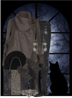 """Baby it's Cold Outside"" by jackie22 ❤ liked on Polyvore"