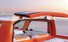 Great rear window design on Exbox Scion xB mini truck Show Trucks, Mini Trucks, Scion Xb, Ford Pickup Trucks, Window Design, Rear Window, Custom Trucks, Custom Bags, Toyota