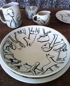 geoff mcfetridge 4 Geoff McFetridge x Heath Ceramics