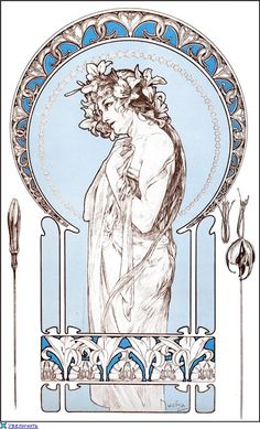 Alphonse Mucha✖️Art✖️No Pin Limits✖️More Pins Like This One At FOSTERGINGER @ Pinterest✖️