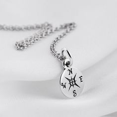 Pure 925 Sterling Silver Pendant Necklace Life Direction Jewelry (23 AUD) ❤ liked on Polyvore featuring jewelry, pendants, pendant necklace, sports jewelry, sterling silver jewellery, sterling silver charms pendants and sterling silver jewelry