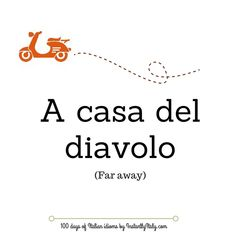 Day 27 of 100 Days of Italian Idioms by instantlyitaly.com