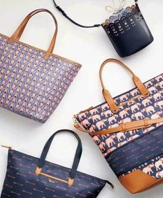 Spring 2017 new Stella & Dot bags! www.stelladot.com/shawndelward