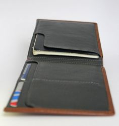 Slim bifold Travel Wallet / Passport wallet / Leather от IFZA