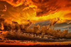'Summer Storm Cloud Sunset' by Marvin Bredel.