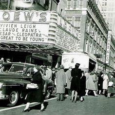 Loew's Theater.  Circa 1950. Newark NJ.