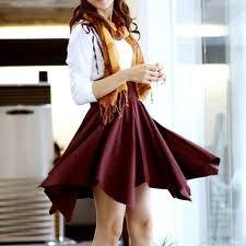 Easy Handkerchief Skirt directions