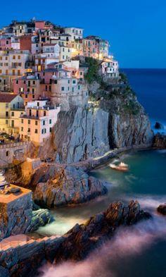 is Cinque Terre, quite far away from Positano ;)