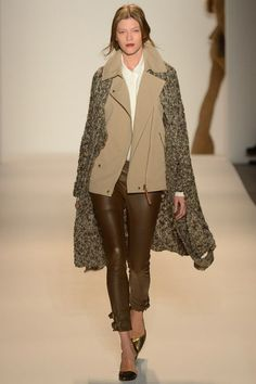 Rachel Zoe Fall 2013 RTW - These leather pants are amazing