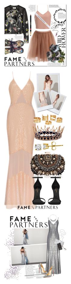 """""""Winners for Hello Homecoming with Fame & Partners"""" by polyvore ❤ liked on Polyvore featuring moda, Fame & Partners, Erdem, Dr. Martens, Lipsy, Yves Saint Laurent, Alexander McQueen, famebabe, Reed Krakoff y Christian Louboutin"""