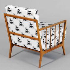 Rino Levi; Pau Marfim Wood Armchair, 1950s.