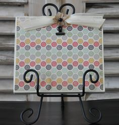 Handmade embellished picture frame with stand. by FrameMyStory, $25.00