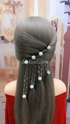 50 Braid Hairstyle Idea And High Crown Ponytail 4 Strands Of Wheat Spike Hairstyle Box Braids Hairstyles, Braided Crown Hairstyles, Girl Hairstyles, Hairstyles Videos, Simple Hairstyles, Hair Upstyles, Long Hair Video, Natural Hair Styles, Long Hair Styles