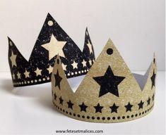 Couronnes des rois à imprimer http://www.fetesetmalices.com/