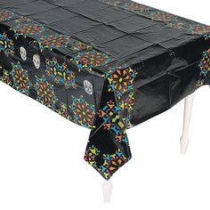 Day of the Dead Tablecloth - OrientalTrading.com