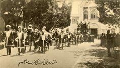 Funeral of Naseredin Shah.