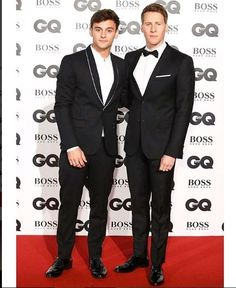 Tom Daley & Dustin Lance Black dlanceblack Good times. Great company. Endless inspiration. Much thanks to @BritishGQ.