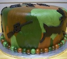 How To Decorate A Camouflage Cake At Home | ifood.tv