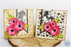 MiniArt - hand made with love: Vintage z makami / Vintage with poppies - DT Craft Passion