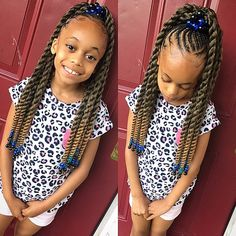 Braids for Kids, 50 Splendid Braid Styles for Girls, The Right Hair styles you can count on. Crochet Pony, Crochet Braids, Crochet Braid Styles, Lil Girl Hairstyles, Black Kids Hairstyles, Girls Natural Hairstyles, Kids Braided Hairstyles, Wedding Hairstyles, Little Girl Braids