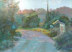 pastel - landscape by Margaret Glass