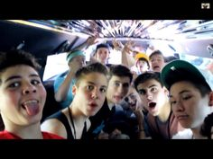 Magcon boys... Matthew Espinosa, Sam Pottorff, Carter Reynolds, Jack Gilinsky, Jack Johnson, Nash Grier, Cameron Dallas, Brent Rivera, Shawn Mendes, Taylor Caniff, Hayes Grier, Aaron Carpenter