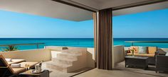Preferred Club Rooftop Ocean Front Suite with Plunge Pool