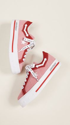 Converse x MadeMe One Star lift platform sneakers Platform Converse, Platform Boots, Platform Sneakers, Shoes Sneakers, Fashion Gal, Aesthetic Shoes, One Star, Pretty Shoes, Dream Shoes