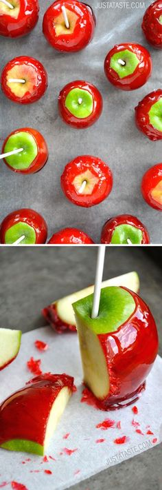How to make the perfect candy apple