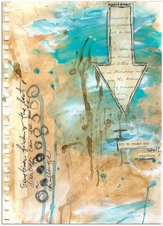"""""""Every Life Has a Story!"""" - {Roben-Marie Smith} - MY OWN SUNSHINE art journal page..."""