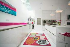 #pink kitchen