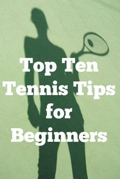 """If only I could think of a synonym for beginners that started with the letter """"T"""". I'm such a nerd. But in all seriousness, for my birthday this year, the Hubs gave me a series of tennis lessons! Woo hoo! We've been playing tennis together for a few years now and while I have gotten …"""