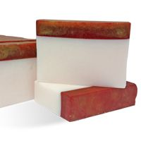 MP Soap Recipe: Simply Elegant Holiday Loaf Soap. Soaps for November and December that are scented with Holiday Berry Type Fragrance Oil. Enjoy the aromas of raspberry, orange and warm musk.