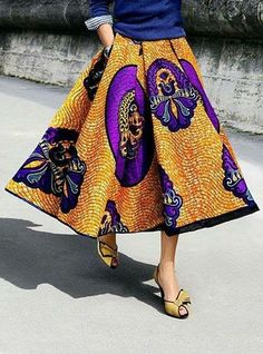 Rich African Print