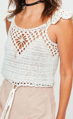 61 Stylish and Cute Crochet Top Pattern Ideas for Summer! Part 24