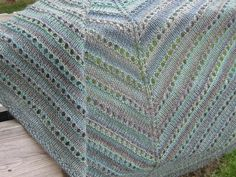 Ravelry: No-fuss shade-loving shawl pattern by Susan Ashcroft