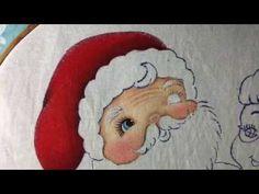 Pintura En Tela Niña Con Esferas # 1 Con Cony - YouTube