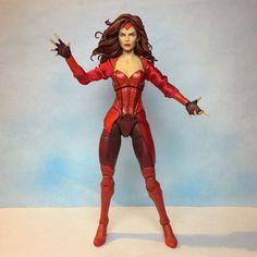 Scarlet Witch (original concept) (Marvel Legends) Custom Action Figure
