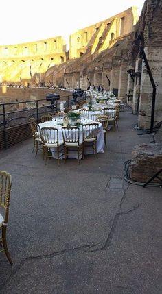 galà al Colosseo realizzata da Alfonso Muzzi Catering