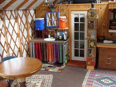 Yurt Living in Upstate New York Yurt Living, Tiny Living, Upstate New York, Yurt Interior, Interior Design, Pacific Yurts, Yurt Home, Yurt Tent, Tiny House Blog