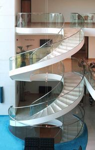 circular-staircase-concrete-structure-enclosed-lateral-stringer-54995-3333981 - Google Search