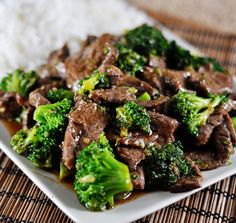 This was literally the best ever asian beef dish I have tasted! This succulent beef and tender broccoli, smothered in a flavorful sauce is better than a restaurant! And it is FAST. It is SIMPLE. And it is utterly tasty. Best Crockpot Recipes, Slow Cooker Recipes, Beef Recipes, Cooking Recipes, Healthy Recipes, Recipies, Yummy Recipes, Beef Tips, Drink Recipes