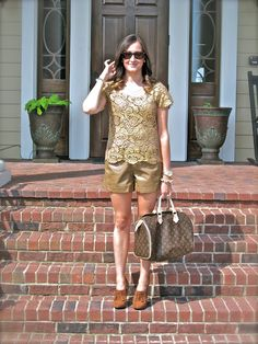 Wake Up Your Wardrobe: What I Wore  leather + lace