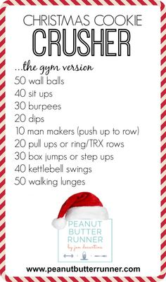 2014 Cookie Crusher - Gym Version! A high-intensity, chipper style workouts. Quick and effective!