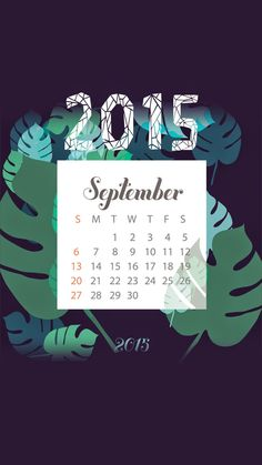 SeptemberWallpaper of 2015 Calendar wallpapers collection for iPhones - @mobile9