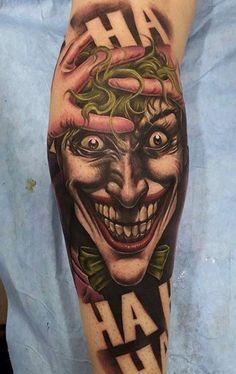 816503669 50 Tatuagens do Coringa Impressionantes para se inspirar