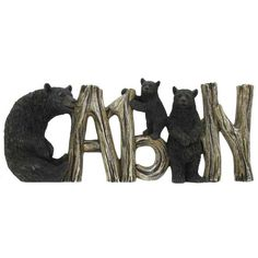 Bear Cabin Sign